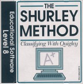 Shurley English Level 8 Educational Software Classifying with Quigley CD-Rom