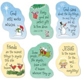 Christmas Magnets, Set of 6