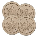To Everything There Is A Season Coasters, Box of 4