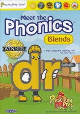 Meet the Phonics: Blends DVD