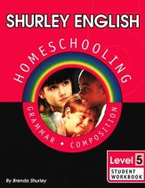 Shurley English Level 5 Student Workbook - Slightly Imperfect