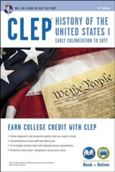 CLEP History of the United States I w/Online Practice Tests, 6th Edition