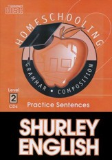 Shurley English Level 2 Practice CDs