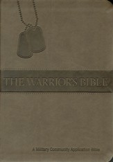 The Warrior's Bible: Military Community Application Bible - Brown