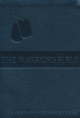 NKJV Warrior's Bible: Military Community Application Bible, Gray