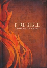 Modern English Version (MEV) Fire Bible, hardcover