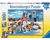 No Dogs on the Beach, 100 Piece Puzzle