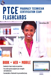 PTCE- Pharmacy Technician Certification Exam Flashcards Book
