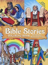 Bible Stories Coloring Book  - Slightly Imperfect