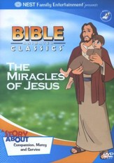Animated Bible Classics: The Miracles of Jesus, DVD