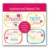 Inspirational Magnets, Set of 4