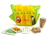Personalized, Bob & Larry Gardening Tote, Green