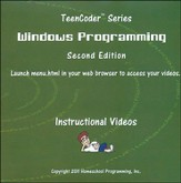 TeenCoder Windows Programming Course Instructional DVD