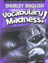 Shurley English Vocabulary Madness! Level 6