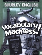 Shurley English Vocabulary Madness! Level 8
