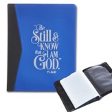 Be Still, Blue Photo Wallet