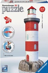 Coastal Lighthouse 3D Puzzle
