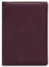 NASB Thompson Chain-Reference Bible, Burgundy  Genuine Leather, Capri Grain (Original NAS)
