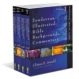 Zondervan Illustrated Bible Backgrounds NT Commentary,  4 Volumes - Slightly Imperfect