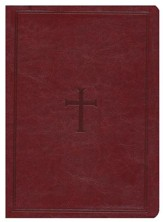 NKJV Giant Print Reference Bible, Brown LeatherTouch, Thumb-Indexed