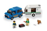 LEGO ® City Van and Caravan