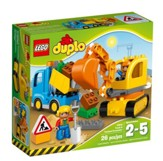 LEGO ® DUPLO ® Truck and Tracked Excavator