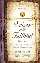 Voices of the Faithful - Book 2: Inspiring Stories of Courage from Christians Serving Around the World - eBook