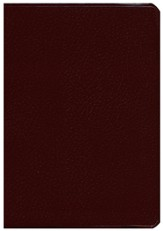 NKJV Super Giant Print Reference Bible, Burgundy Bonded Leather