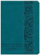 Holman Study Bible: NKJV Mother's Edition, Turquoise LeatherTouch