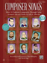 Composer Songs / Book & CD