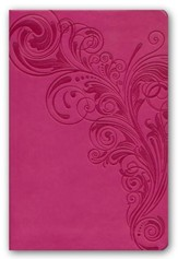 KJV Compact Ultrathin Bible, Pink Leathertouch