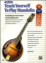 Teach Yourself to Play Mandolin / Book , CD & DVD