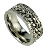 Chain Ring, Man of God, Size 10