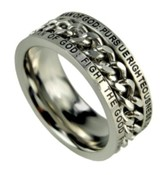 Chain Ring, Man of God, Size 14