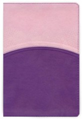 HCSB Study Bible for Women, Lavender and Blush LeatherTouch