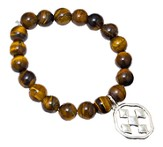 Shield of Faith Bracelet, Tigerstone