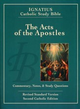 RSV The Acts of the Apostles Ignatius Study Bible