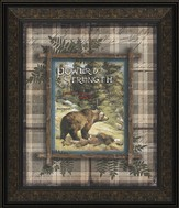 Power and Strength, Bears Framed Art