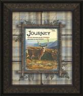 Journey, It Is God Who Arms Me Framed Art