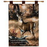 I Thank My God, Buck, Wallhanging
