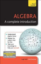 Algebra - A Complete Introduction: Teach Yourself / Digital original - eBook