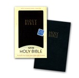 NIV Gift and Award Bible, Leather-Look, Black