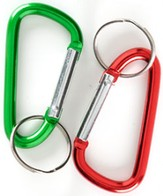 Sky/Babylon Carabiners, Package of 12  - Slightly Imperfect