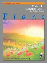 Alfred Basic Piano Library: Praise Complete Level 1