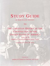 Christian History of the Constitution Volume 2 Study Guide