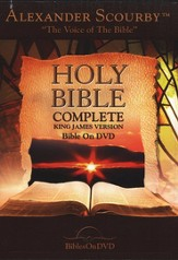 KJV Complete Bible on DVD Narrated by Alexander Scourby