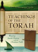 NIV Teachings of the Torah, Imitation Leather, Brown  - Imperfectly Imprinted Bibles