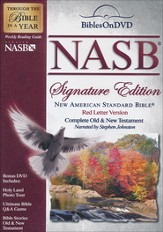 NASB Signature Edition Bible on DVD  - Slightly Imperfect