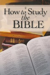 How To Study The Bible - Slightly Imperfect