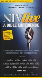 NIV Live: A Bible Experience, Audiobook on CD